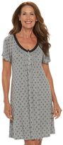 Croft & Barrow Women's Pajamas: Enchanted Nightgown