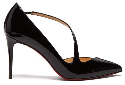 8d9ae74bc3d Jumping 85 Patent Leather Pumps - Womens - Black