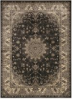 Bed Bath & Beyond Radiance Traditional 6-Foot 6-Inch x 9-Foot 10-Inch Area Rug in Dark Grey