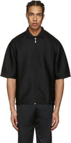 Cottweiler Black Service Zip-up Polo