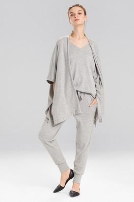 Natori Retreat Jersey Sweater Knit Topper