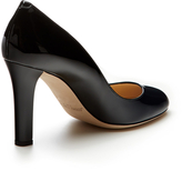 Jimmy Choo Georgia Patent Leather Rounded-Toe Pump
