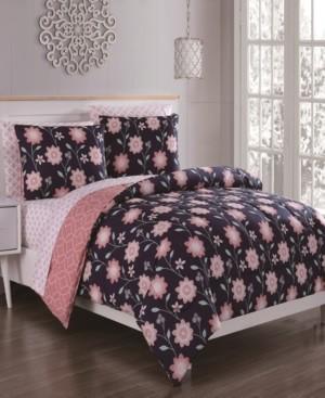 Geneva Home Fashion Britt 7-Pc King Bed in a Bag Bedding