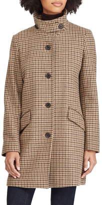 Lauren Ralph Lauren Houndstooth Check Coat