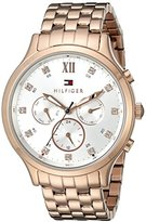Tommy Hilfiger Women's 1781611 Sophisticated Sport Analog Display Quartz Rose Gold Watch