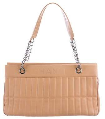 Chanel Quilted Leather LAX Tote