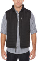 Perry Ellis Nylon Quilted Puffer Vest