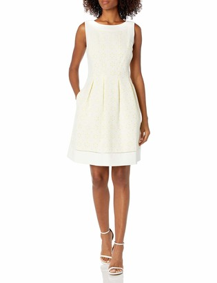 Jessica Howard JessicaHoward Women's Framed Fit and Flare Dress