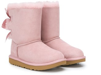 UGG bow detail ankle boots