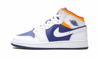 Nike Unisex Air Jordan 1 Mid (Gs) Basketball Shoe