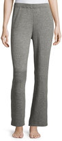 Christopher Fischer Cashmere Wide-Leg Knit Pants, Mid Gray