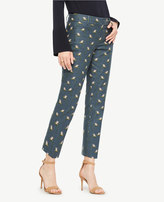Ann Taylor The Petite Crop Pant in Paradise Print - Kate Fit