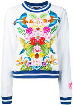 Manish Arora tropical print sweatshirt - women - Cotton/Spandex/Elastane - 36