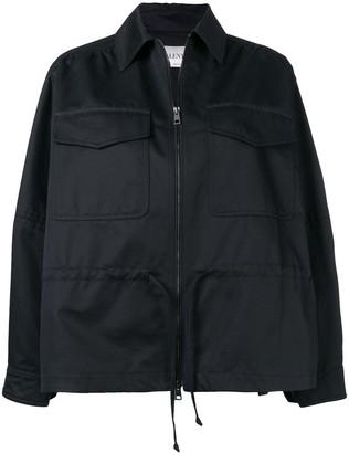 Valentino Oversized Zipped Jacket