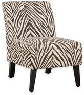 Lily Patterned Linen Chair