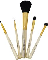 Babila Professional Basic 5 Pieces Makeup Brush Set With Face Brush, Eye and Lip Brush, Bridesmaid Gift