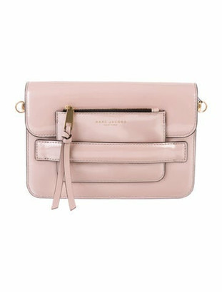 Marc Jacobs Patent Leather Crossbody Bag w/ Tags Pink