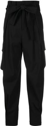 RED Valentino Tie-Waist Cargo Trousers