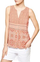 Sanctuary Women's Craft Mixed Print Shell