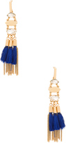 Rebecca Minkoff Tassel And Fringe Chandelier Earring