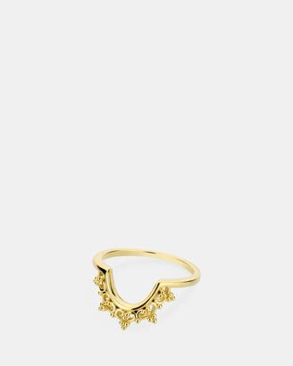 Ichu Gold Crown Ring