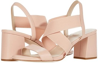 Cole Haan Aniston Elastic Sandal (65 mm) (Mahogany Rose Leather/Gore) Women's Shoes