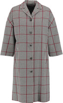Dolce & Gabbana Checked cotton-blend coat