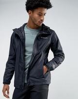 Columbia Pouring Adventure Hooded Jacket Waterproof In Black