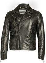 Off-White Off White Leather Biker Jacket