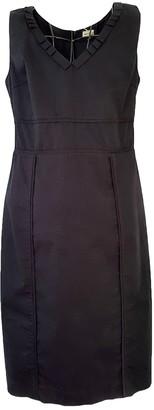Henry Cotton Black Cotton Dress for Women