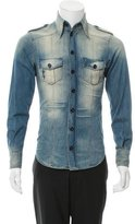 Dolce & Gabbana Distressed Denim Shirt