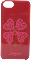 Lucky Brand Pink Clover Phone Case