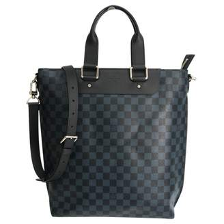 Louis Vuitton Navy Cloth Bags