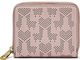 Fossil Emma Llama & Heart Perforated RFID Mini Multifunction Wallet