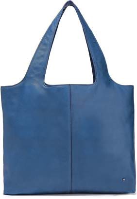 Halston Tina Pebbled-leather Tote