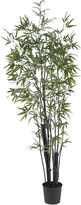 Asstd National Brand Nearly Natural 6-ft. Black Bamboo Silk Tree
