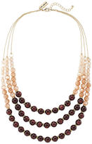 The Limited Ombre Beaded Multistrand Necklace