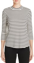 Cupcakes And Cashmere Striped Cory Top