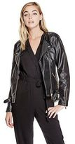 G by Guess GByGUESS Women's Evelyn Moto Jacket