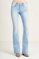 True Religion Nikki Mid Rise Flare Womens Jean