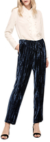 Gerard Darel Sevres Silk Blend Trousers, Blue