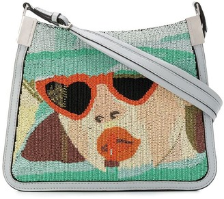 Marco De Vincenzo Starry bag with Dolores micro beads