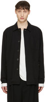 Robert Geller Black Cotton Jacket