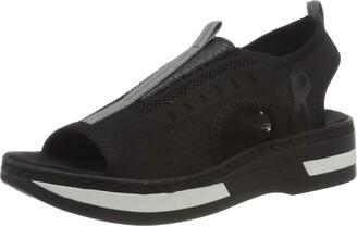 Rieker Women's Fruhjahr/Sommer V59B5 Closed Toe Sandals