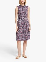 Boden Rhoda Mosiac Shirt Dress, Multi