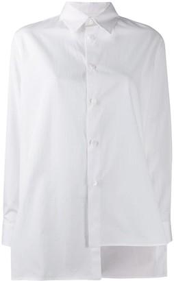 Y's oversized asymmetric shirt