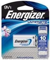 Energizer Ultimate 9-Volt Lithium Battery