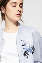 Witchery Embroidered Bomber