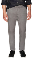Save Khaki Light Slim Fit Flat Front Twill Trousers