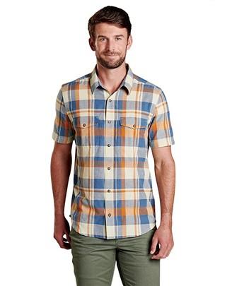 Toad&Co Hookie Short Sleeve Shirt (Desert) Men's Clothing